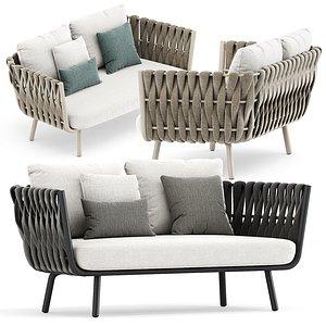3D tosca sofa