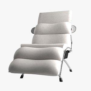 3D Barber Chair Takara Belmont Calme model