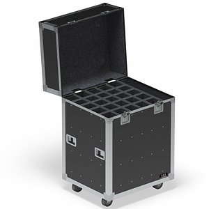 Flight Cases Without Device Big 02 3D model