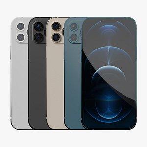 iPhone 13 pro -all Colors 3D model