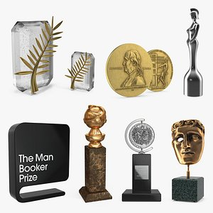 3D model Awards and Prizes Collection 2