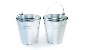 3D bucket container industrial