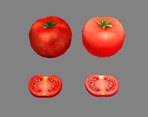 3D tomato vegetable model