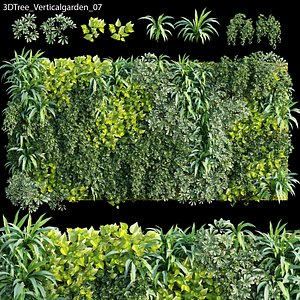 3D Vertical garden 07