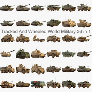 World Military Army Collection 36 in 1 3D