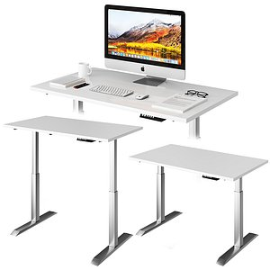 3D model Lift Table White