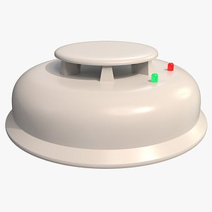 3D model Smoke Detector 001