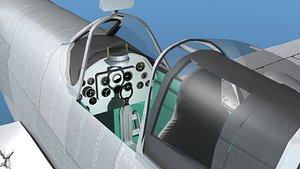 Supermarine Spitfire Mk IXb  V05 3D model