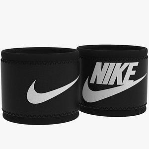 3D Nike Wristband model