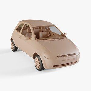 3D model 2003 Ford Ka