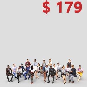 3d human people bonus