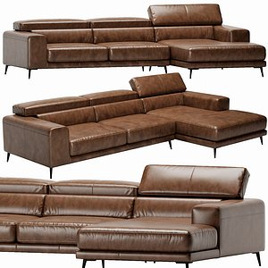 Ditre Italia Anderson Chaise Lounge 3D