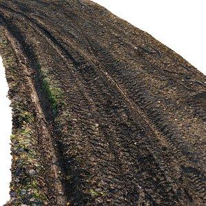 3D dirt road model