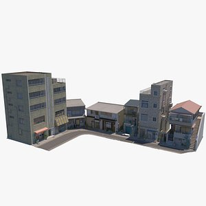 3D street buildings