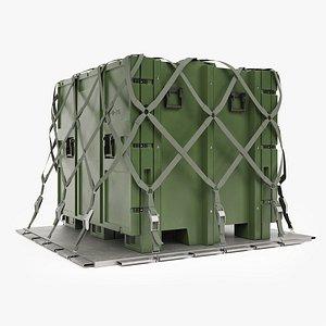 Military Cargo Case 3D model
