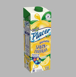 pak juice pack 3D model