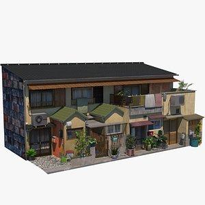 Osaka Townhouses 3D model