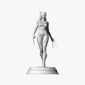 3D X23 Laura Kinney