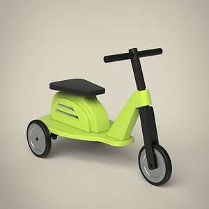 3D Toy Scooter