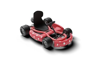 Go Kart Racing 3D model