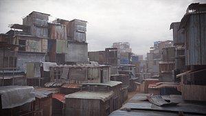 shantytown modules 3D model