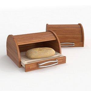 mitheis pearwood bread bin 3D model