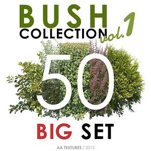 50 Bush Collection vol. 1 - BIG Set