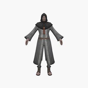 Magic man 3D model