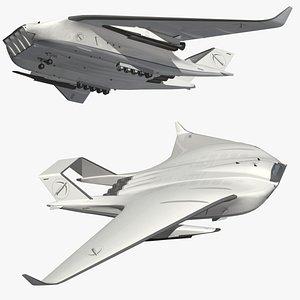 ARCHER Rocket Carrier model
