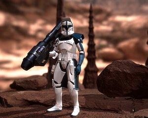 Clone Heavy trooper 3D model