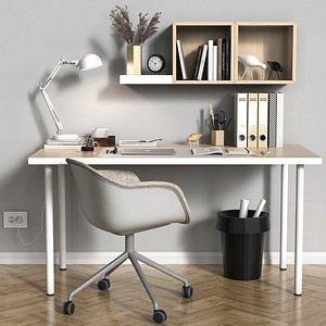 desktop desk decor 3D model