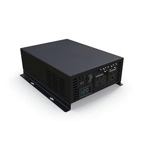 Power Inverter PBR 3D model