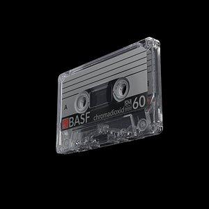 cassette tape box 3D