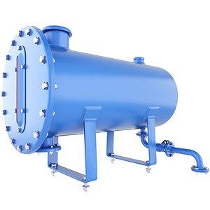 tank pressure oil 3D