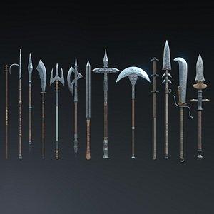 3D axe spear bo