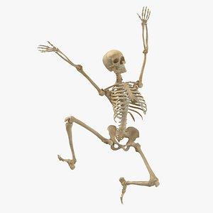 3D Real Human Female Skeleton Pose 72(1)