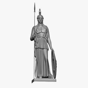 Ancient Roman Women soldier 3D print 3D model
