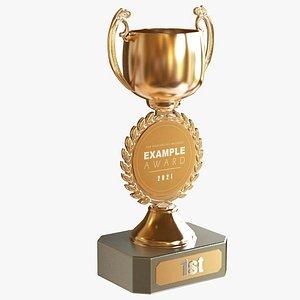 3D Award Cup 4