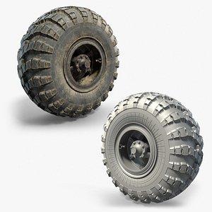 heavy wheels 3D