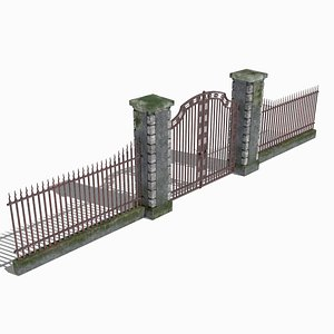 Old Gate 3D
