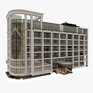 3D City Court Building