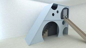 oyun alan 3D model