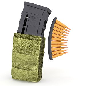 magazine pouch 3D model