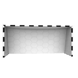 3D hockey net