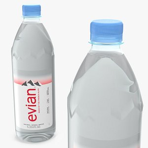 evian natural mineral water model