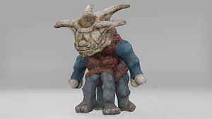 3D Stylized Monster Julermo model
