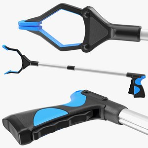 claw grabber tool rigged model