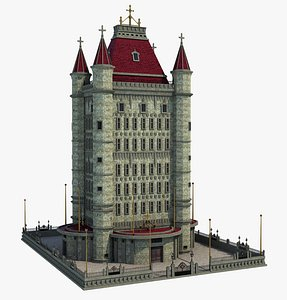 tower building model