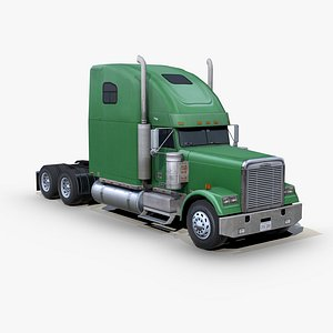 3D freightliner fld 120 classic