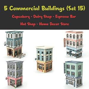 set 15 store 3D model
